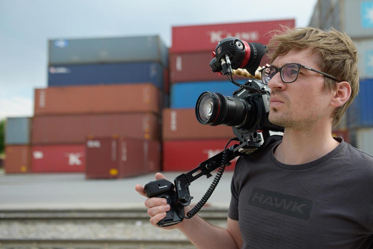 Porträt von Jonas KÖck, Filmemacher aus Bayern